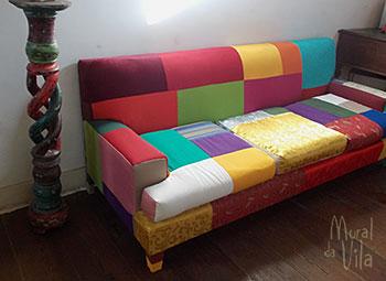 Restauro de estofamento de sofá