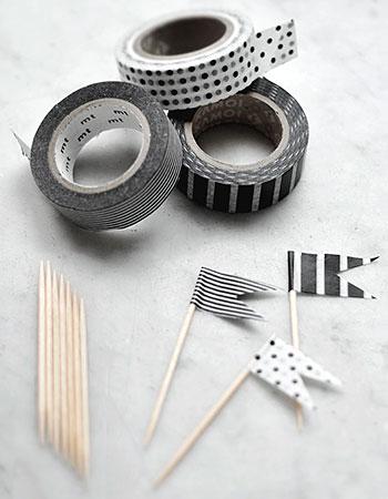 Decore com washi tape