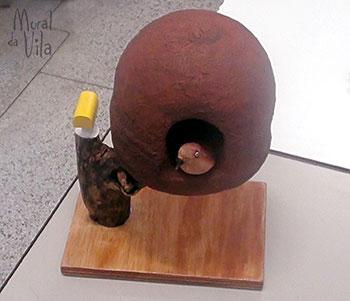 Escultura em isopor