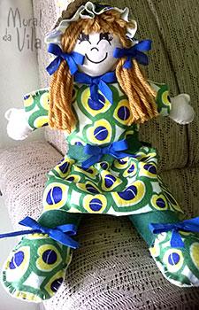 Boneca bem brasileira