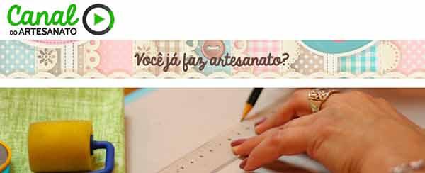 Canal do Artesanato, cursos online