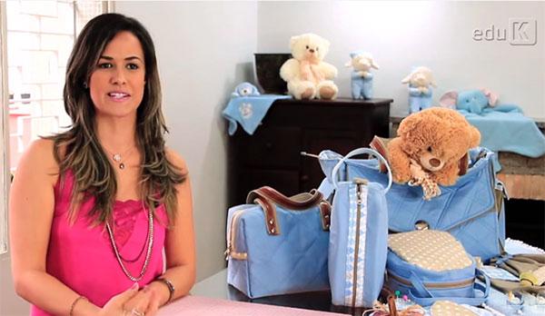 Carol Viana, expert Eduk no curso de utilitários para bebês