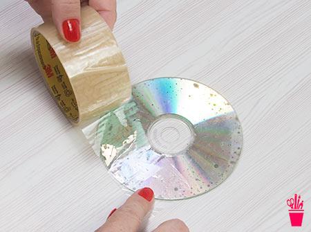 Limpe o CD
