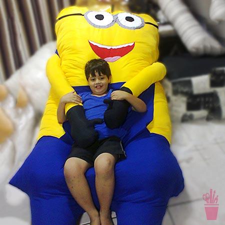 Além dos brinquedos, alegria em móveis