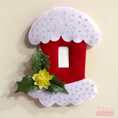 Como decorar seu interruptor para o Natal