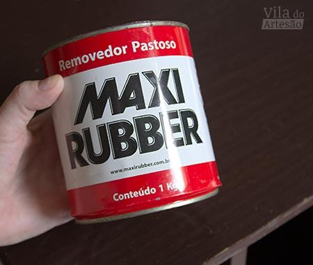 Removedor de pinturas variadas Maxi Rubber