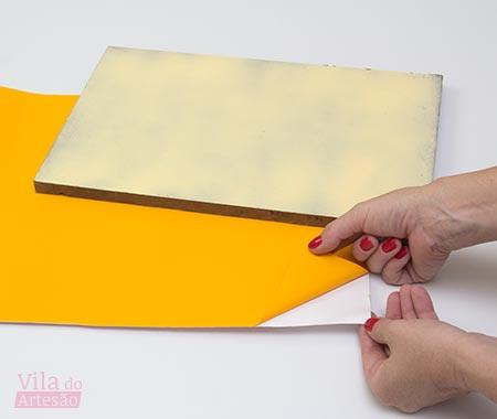 Use adesivo para destacar