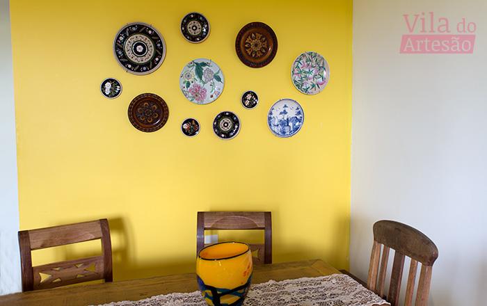 Como fazer um suporte para pendurar pratos na parede