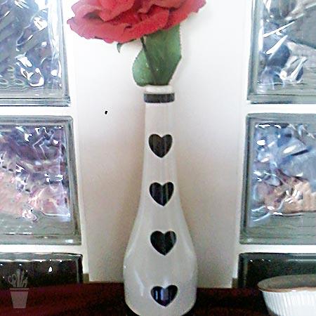 Pintura personalizada nas garrafas