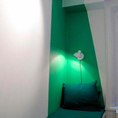 Efeito tridimensional com luz e sombra