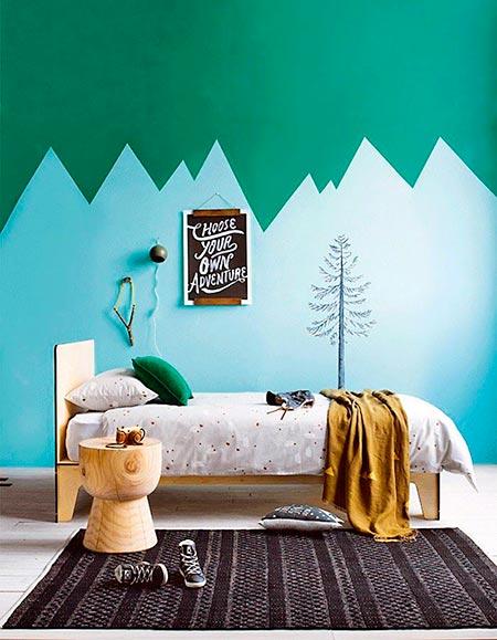 Pintando as paredes com um tema