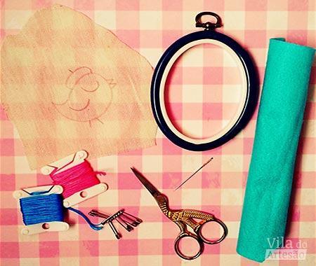 Separe material e ferramentas