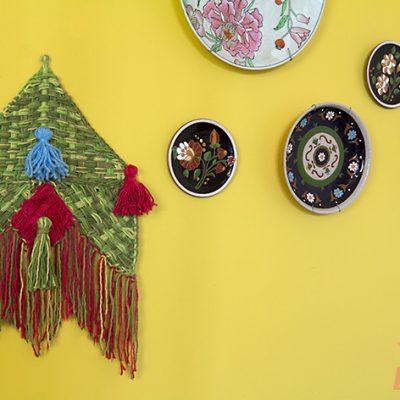 Como fazer um panô em tear para decorar