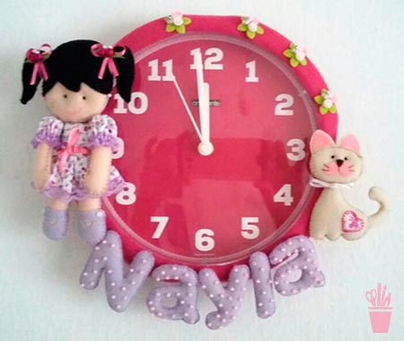 Relógios de parede customizados