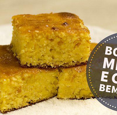 Como fazer bolo de milho e coco bem fácil