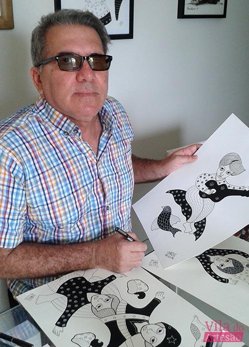Artista Carlos Augusto Gomes Correia