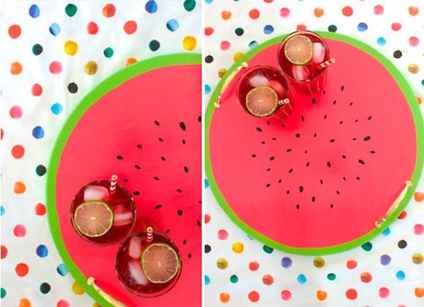 Bandeja de melancia