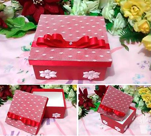 Caixas decoradas para mulheres