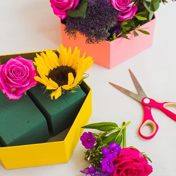 Encaixe as flores