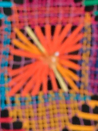 Foto de detalhe feita com zoom
