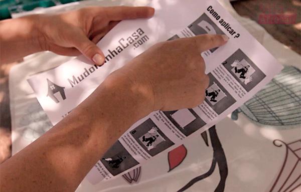 Como aplicar adesivos decorativos