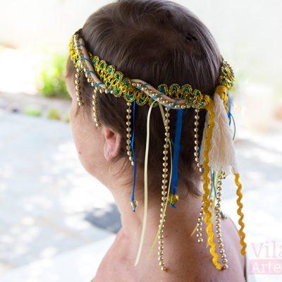 Headband de carnaval pra curtir a folia