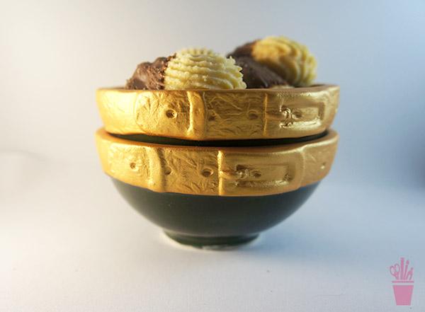 Bomboniére em cerâmica artesanal