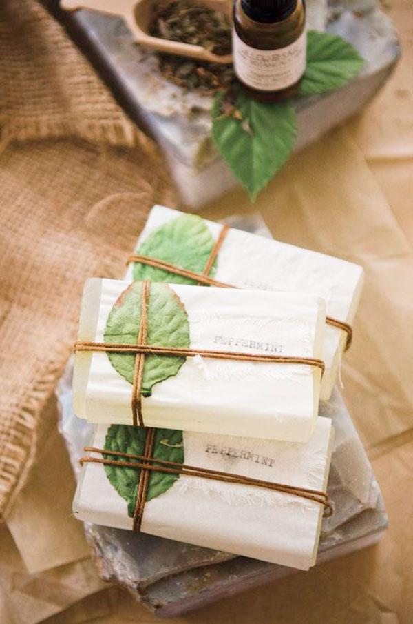 Sabonetes artesanais com embalagens super criativas