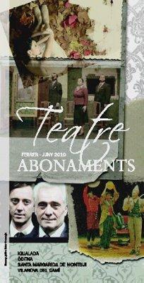 teatre abonaments
