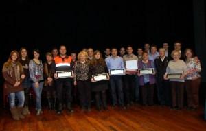 Homenatge a entitats i establiments vilanovins 2013