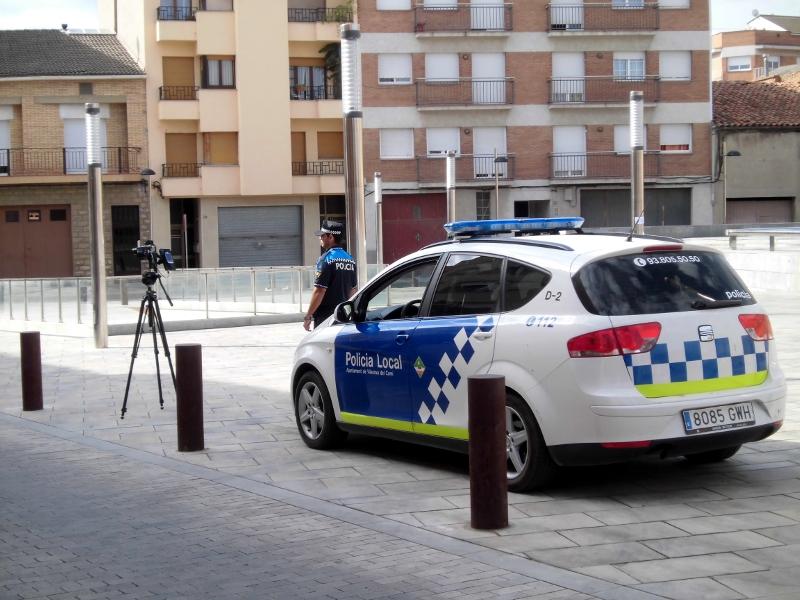 Policia Local imatge d'arxiu