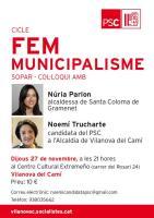 Nuria Parlon i Noemi Trucharte 27 11 14