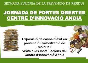 Jornada setmana europea prevenció de residus cartell V02