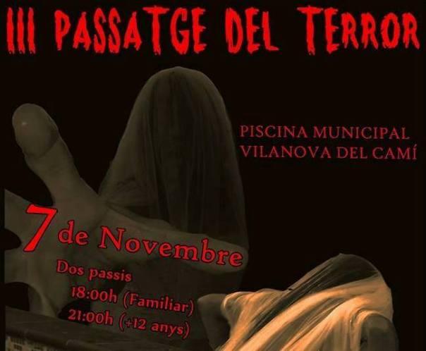 cartell III passatge de terror Artístic