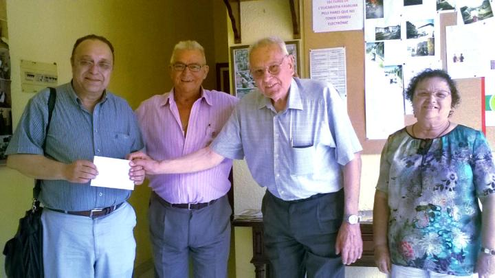 donatiu jubilats a Caritas