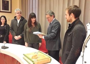 Artur Mas - signatura llibre d'honor (1)