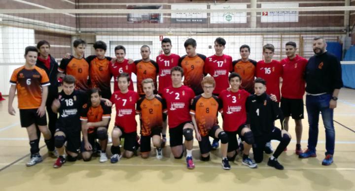 Club Volei Igualada juvenil amb Sant Pere i Sant Pau