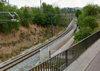 Pas vianants via del tren 2 Foto Ajuntament Igualada