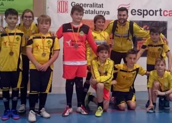 Can Titó Vilanova Futbol Sala equip aleví (2)