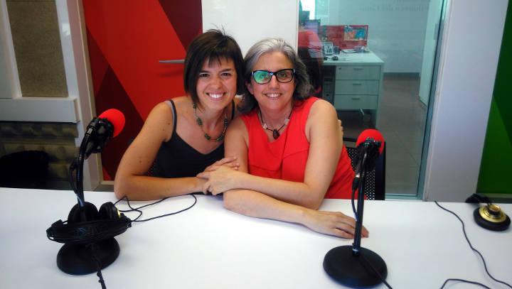 Gloria Fite psicologa psicogeriatra i carla casas coordinadora EAVA i treballadora social ambudes del consell comarcal 1