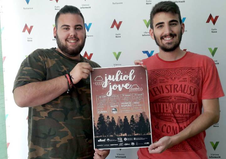 Segio Perez i Amos Collado Juliol jove 2017 2
