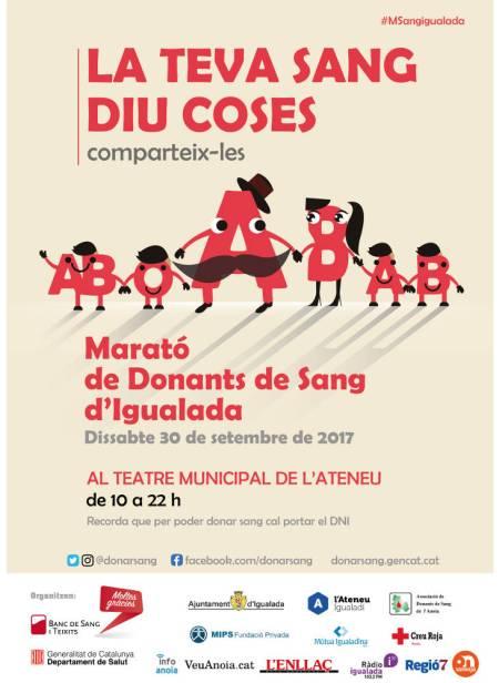 Marato Igualada set17 cartell