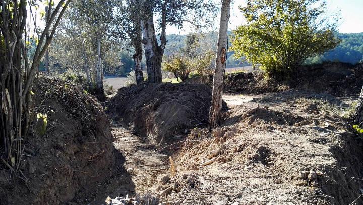 Arranjament camí de Can Bernades 2