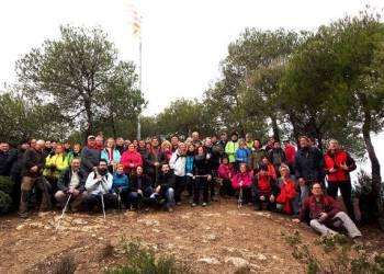 Colla Excursionista Sant Hilari canvi senyera 2018-Foto JSayos-v2