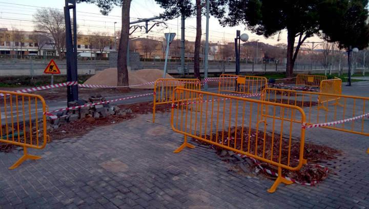 Obres Passeig Industria feb18 6