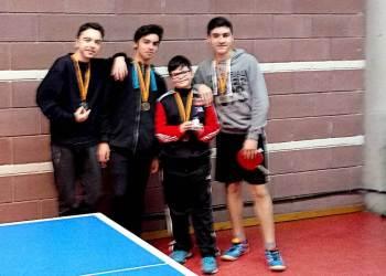 CTT Vilanova Marcos, Pau, Rafa i David Jocs Escolars mar 18-v11