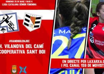 Cartell Handbol Xarxa TV-v22