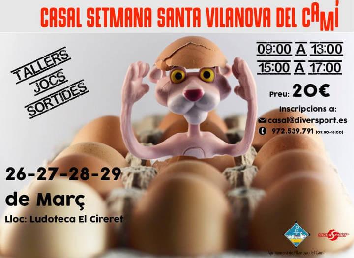 Casal Setmana Santa 2018 cartell-v11