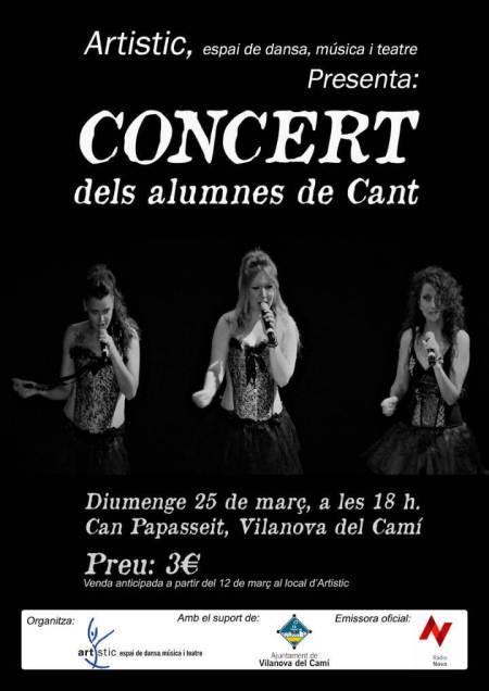 Concert de Cant cartell mar18-v11