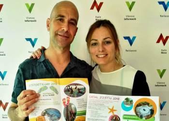 Camilo Grados i Silvia Caceres maig 2018